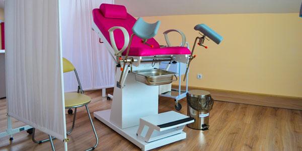 Кабинет гинекологии в клинике Ридент